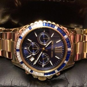 Michael Kors Blue Stone Watch